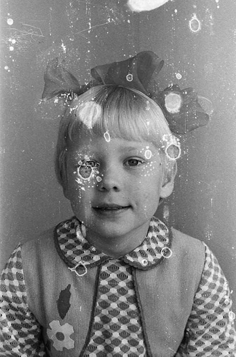 Портрет девочки в детском садике. Минск, 1984 год