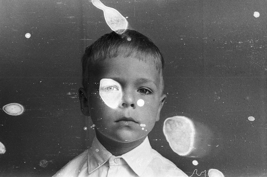 Портрет мальчика в детском садике. Минск, 1984 год