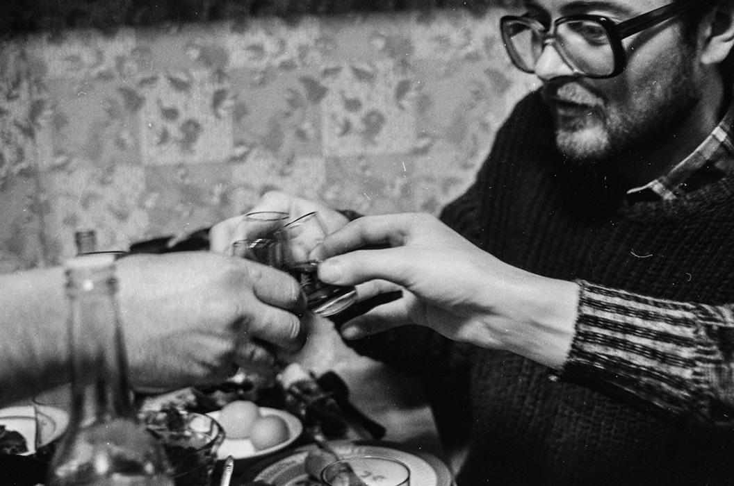 Кухонные посиделки. Минск, 1985 год