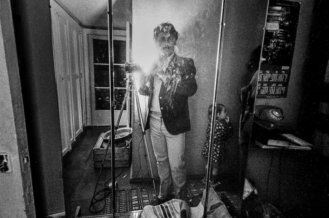 Автопортрет, Минск, 1984 год
