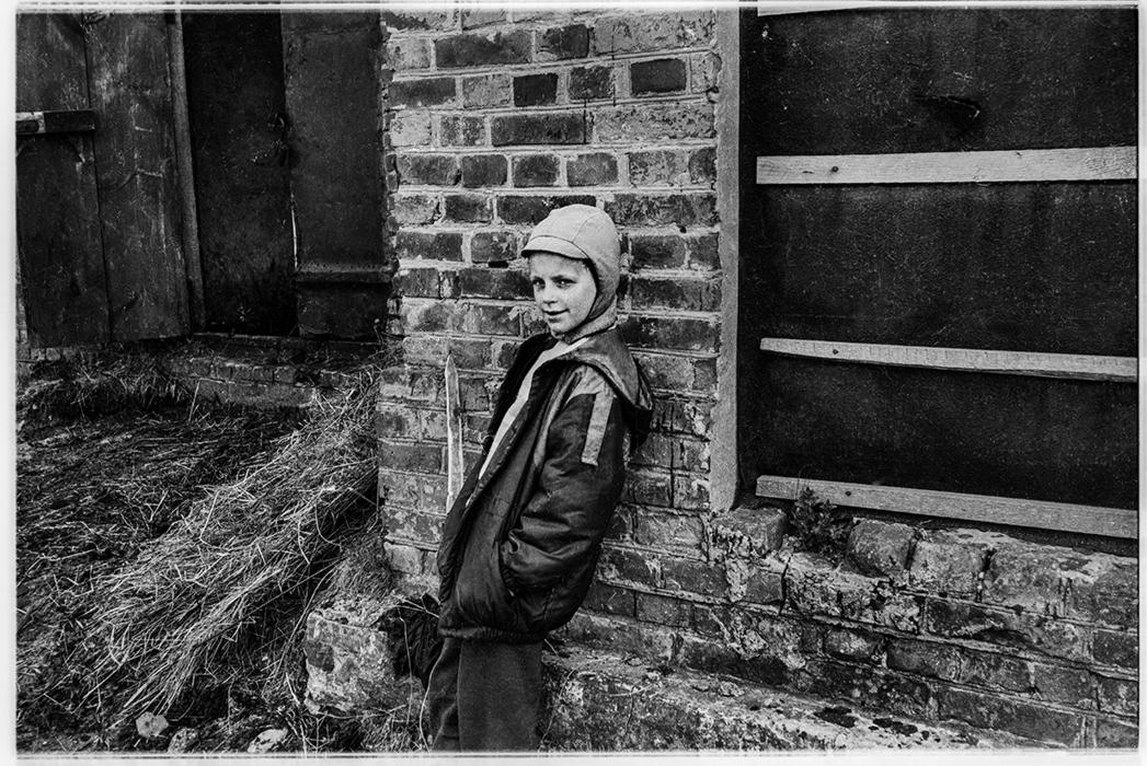 На хуторе в Гомельской обл. 1986 год