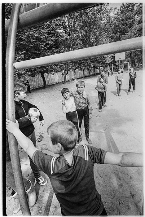 В пионерском лагере, Стайки, 1986 год