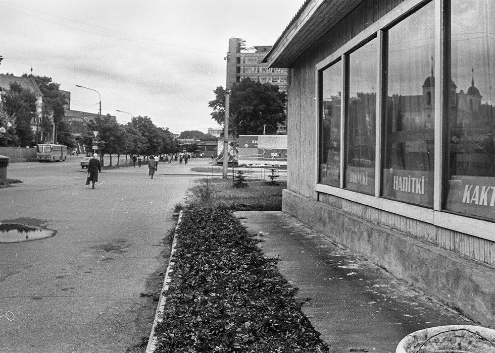 Ул. Немина на пересечении с ул. Комсомольской, Минск, начало 80-х