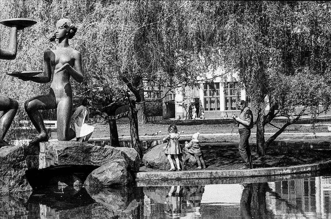 пл. Ленина, Минск, 1987 год