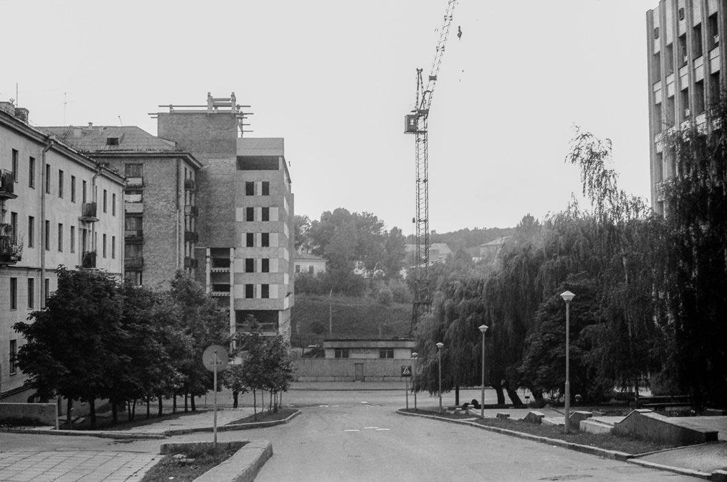 Пересечение улиц Берсона и Мясникова, Минск, начало 80-х