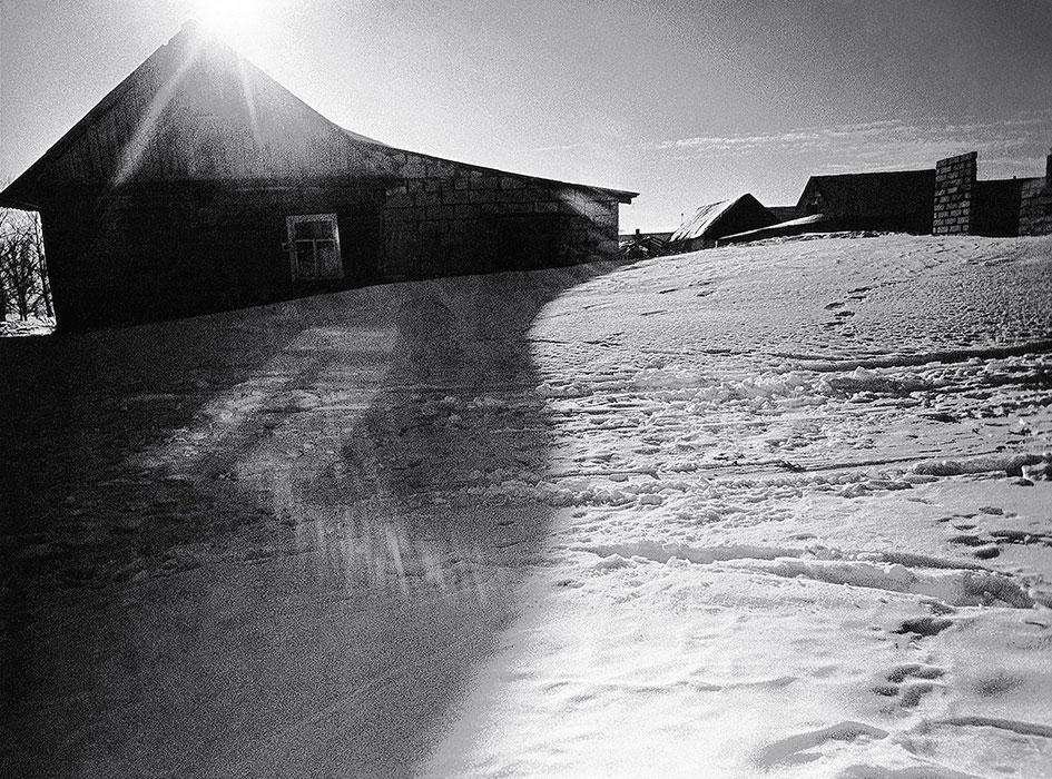Зима в Самохваловичах. 1982год