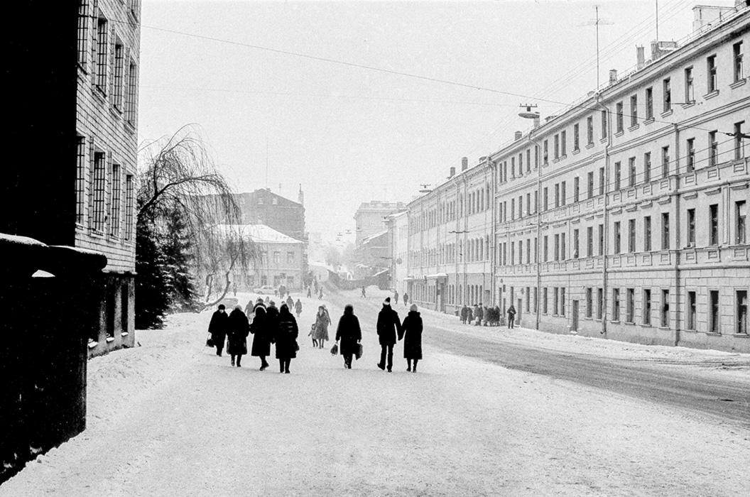 Ул. Интернациональная, Минск, начало 80-х