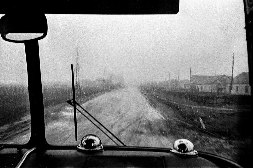 Из автобуса, Минский р-н, 1984 год