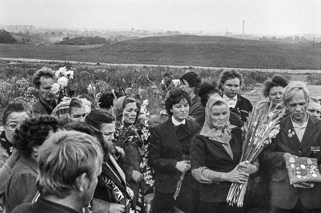 Похороны ветерана, солдата Второй мировой, Минск, середина 80-х