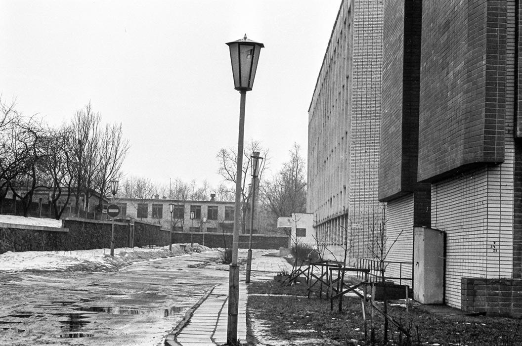 Ул. Сухая, Минск, 1984 год