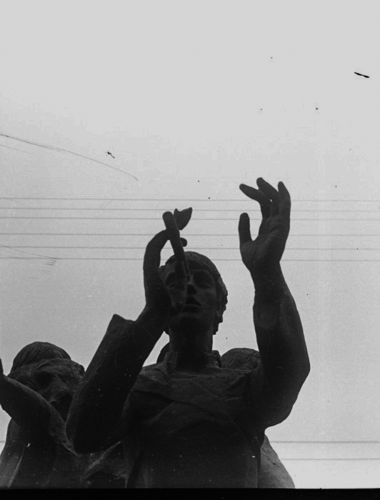 Фрагментарное Троицкое предместье, Минск, 1987 год