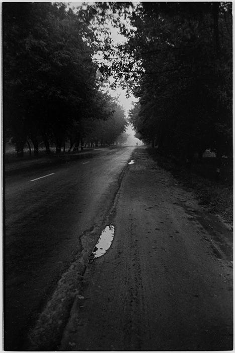 Дорога. Осень. 1985год
