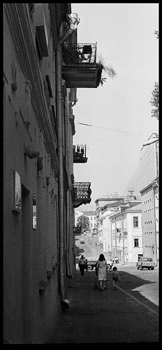 ул. Революционная, Минск, 1984 год