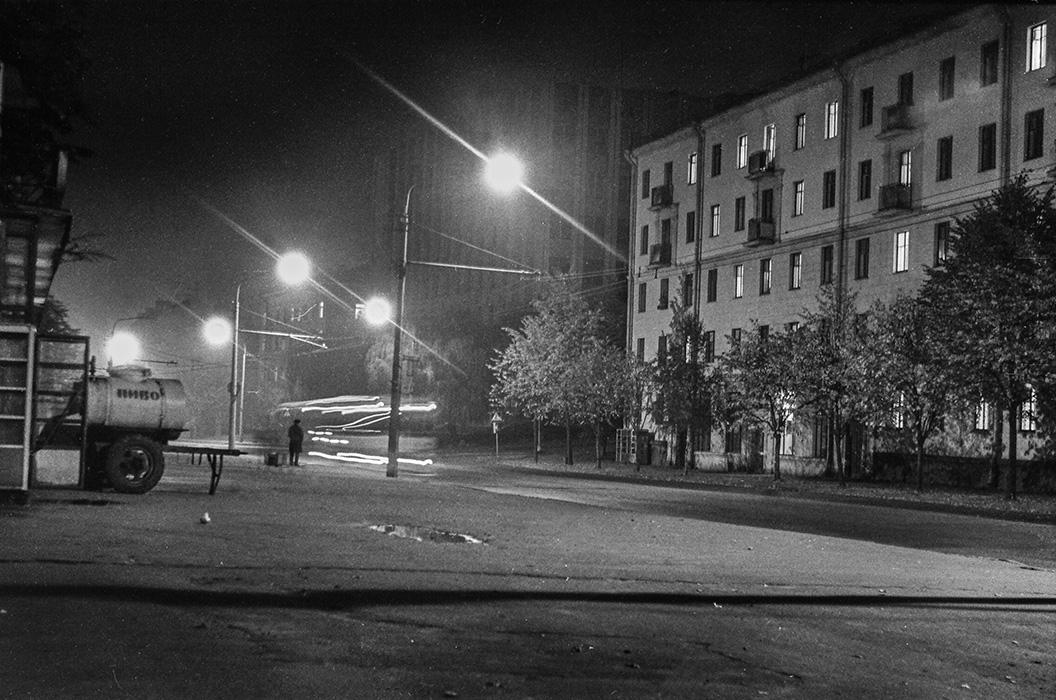 ул. Мясникова, Минск, 1984 год