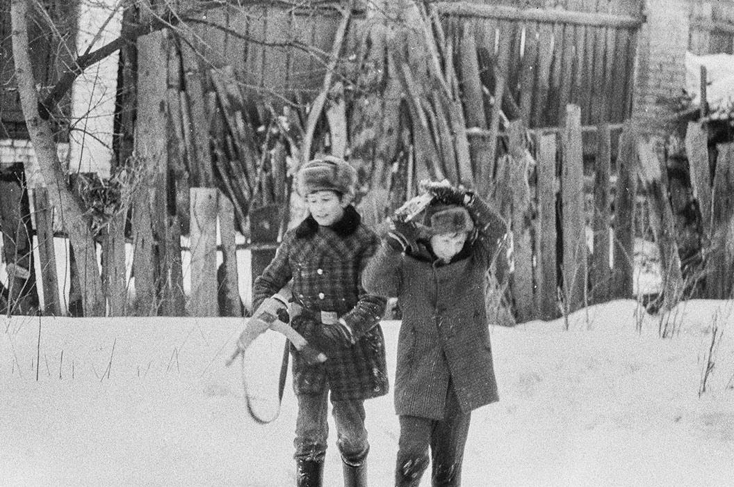 Детские игры. Минск, 1983 год