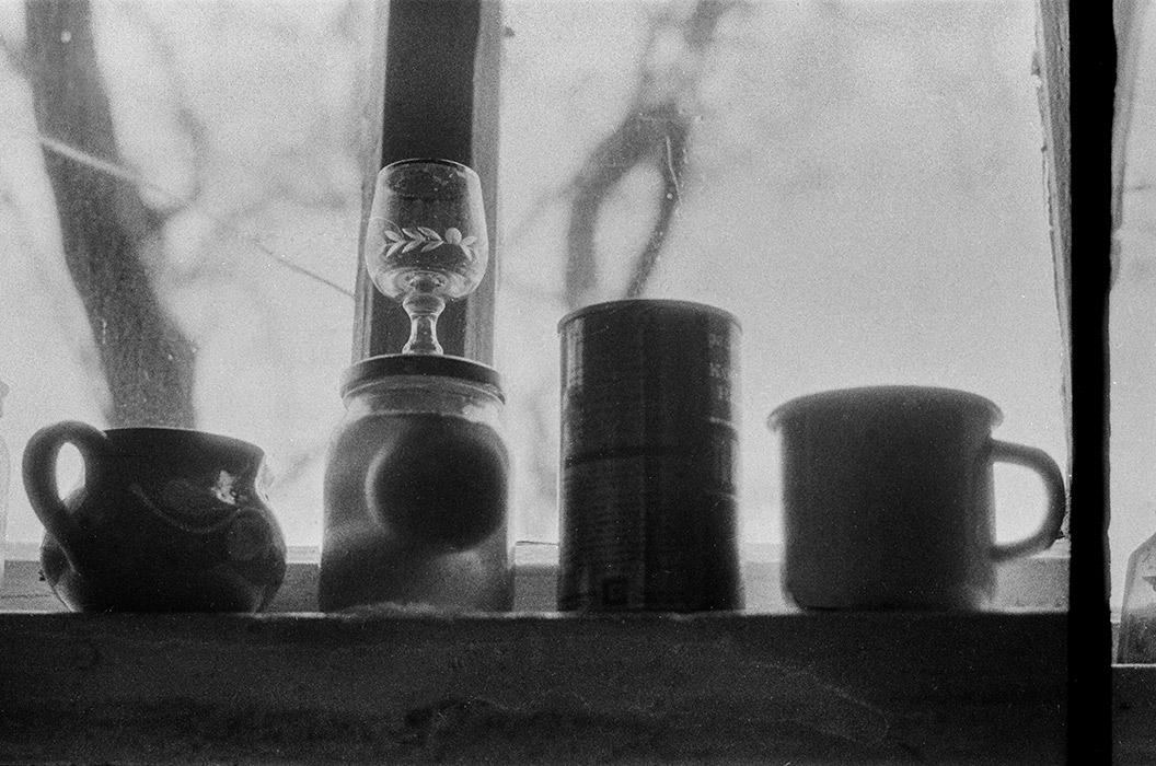 На окне. Натюрморт. Брест, 1986 год
