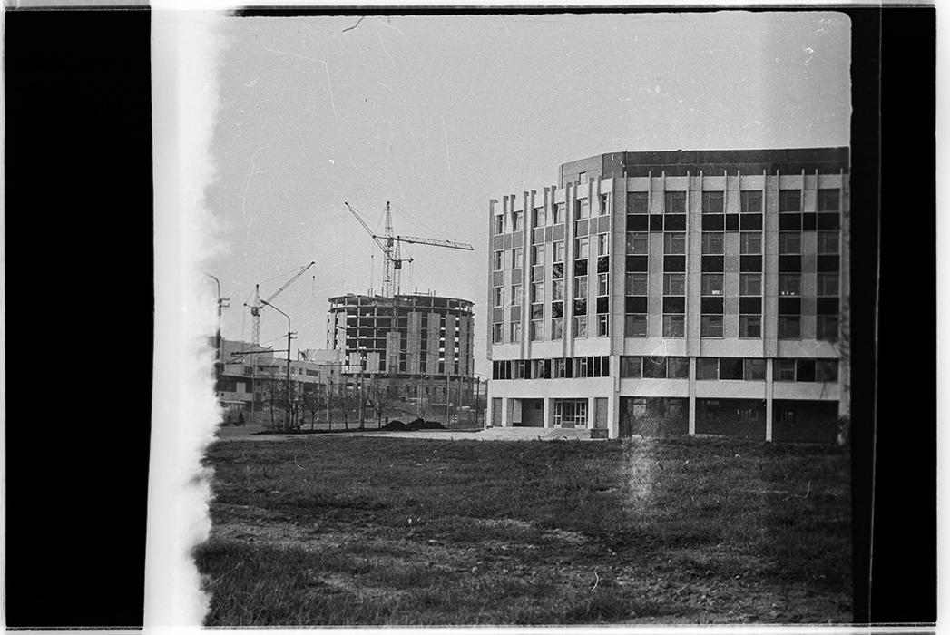 Здания. Минск, 1984 год