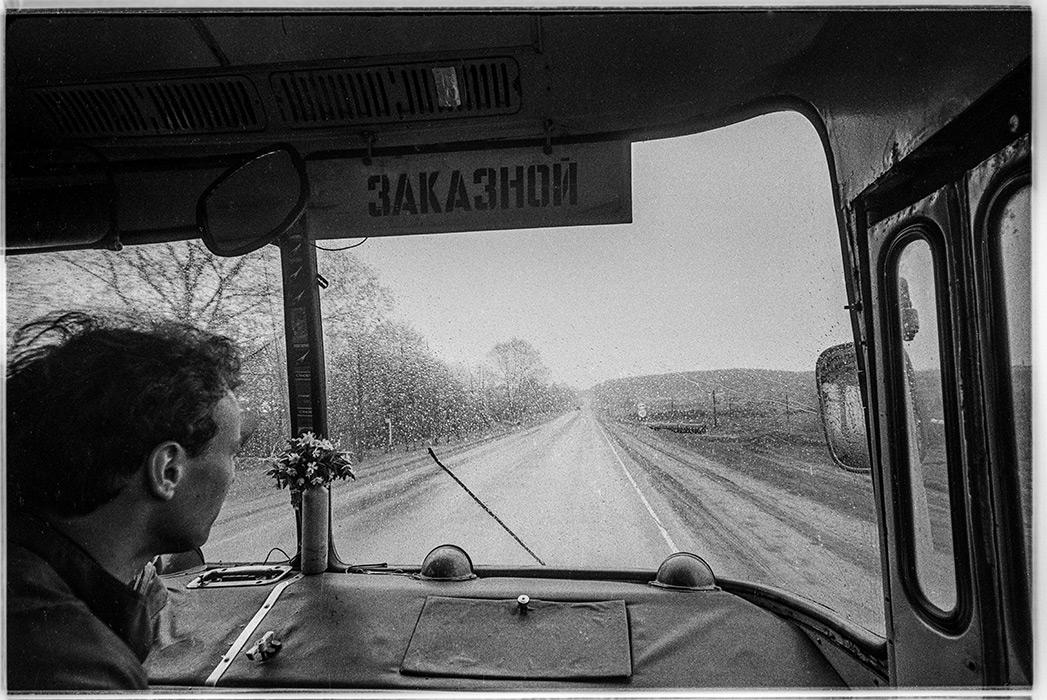 Из автобуса. Минский р-н, 1984 год