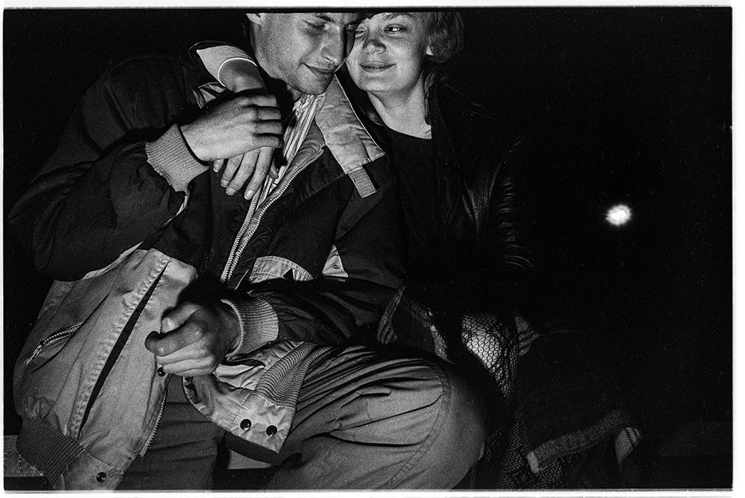 Минск ночной, пр-кт Машерова, 1987 год