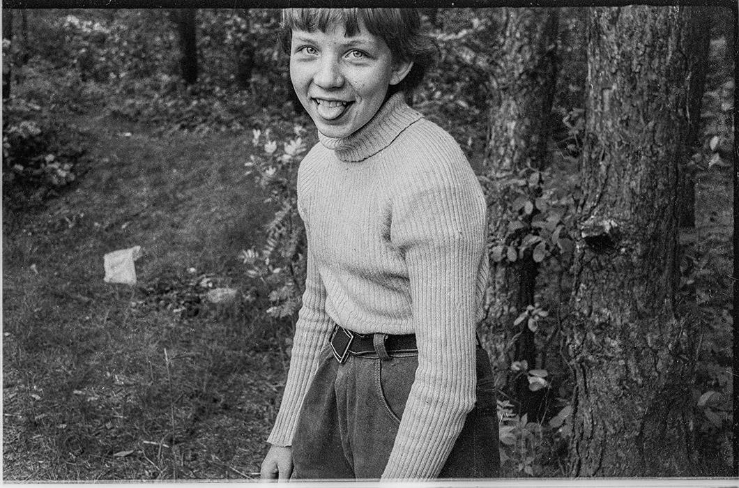 Оля. Минский р-н. 1986 год