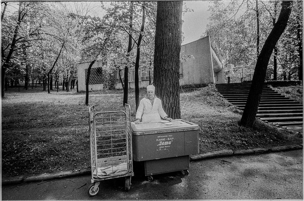 Продавец мороженого. Минск, 1986 год
