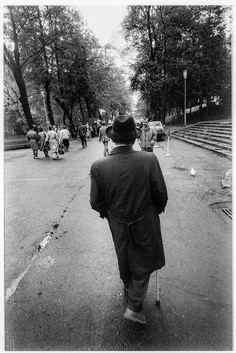 В парке Горького. Минск, 1986 год