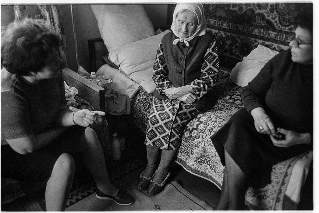 Бабушка Вера. Брест. 1987 год