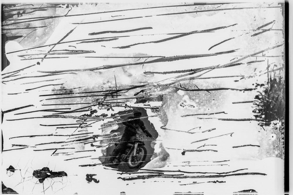 Эксперименты с негативом. Минск, 1984 год