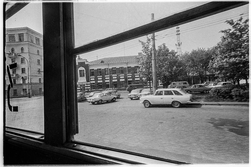 ул.Красная и Козлова, трамвайное депо