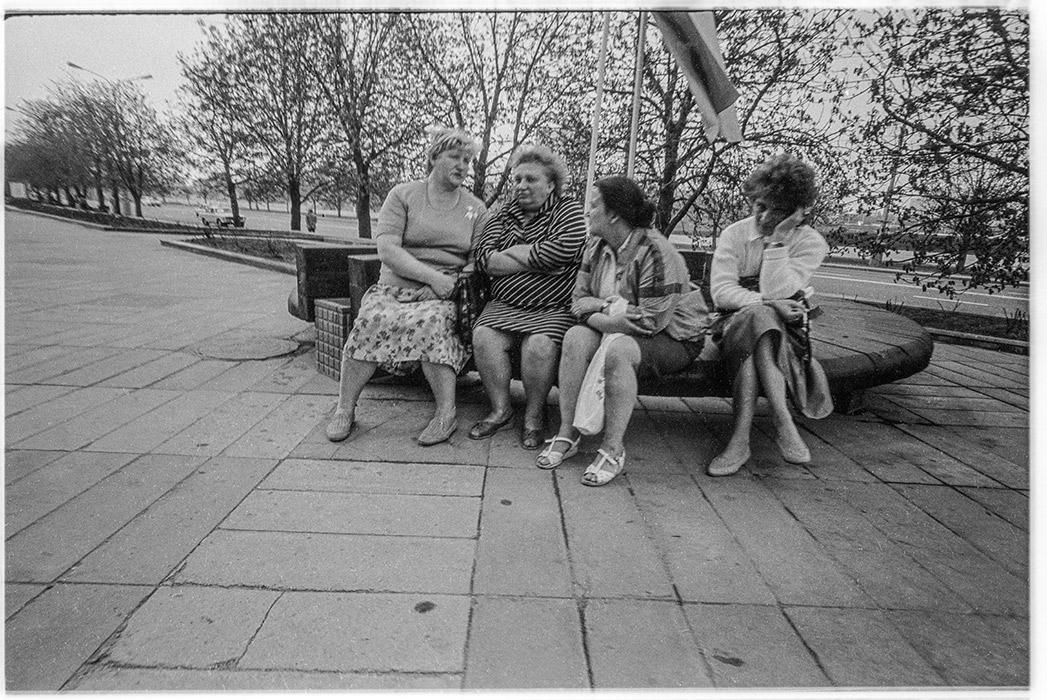 Проспект Машерова. Минск, 1987 год