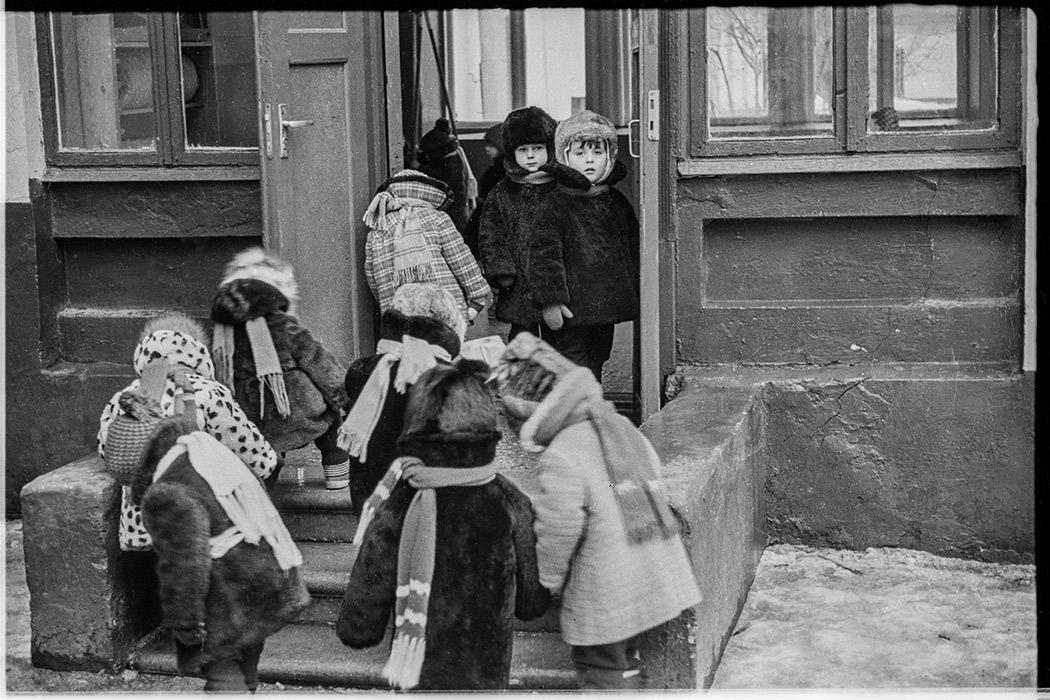 В детском садике. Минск. 1985 год