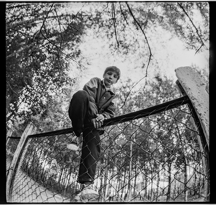 В пионерском лагере. Минский р-н. 1987г.