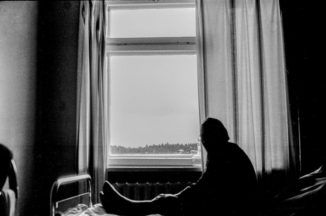 В больнице. Боровляны, 1984 год