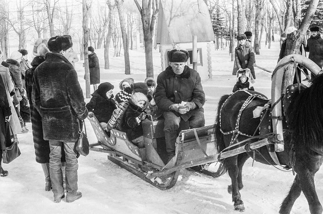 В парке Горького. Минск, 1983год