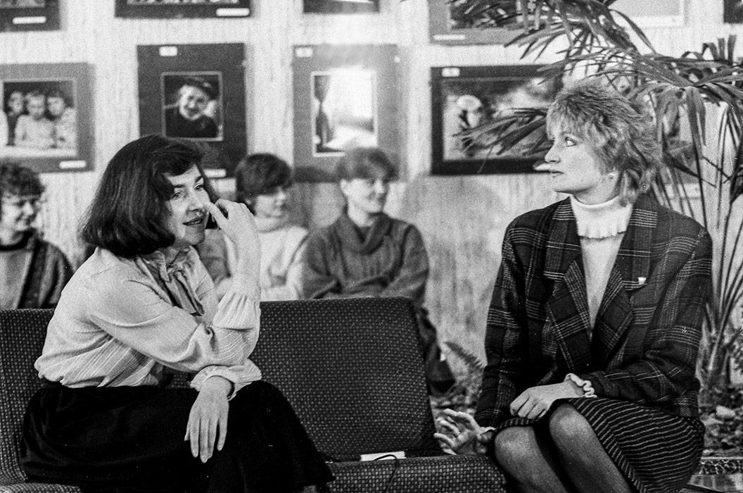 Моменты съемки телепередачи в г-це Юность, Минский р-н, середина 80-х