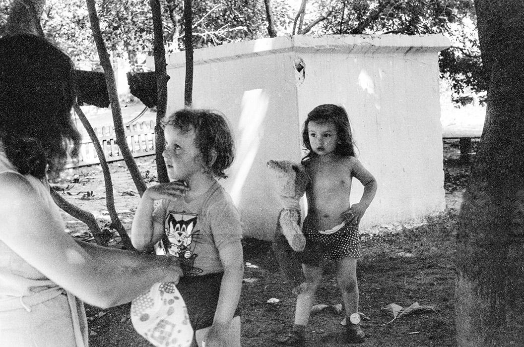 Минские дворики. Минск, 1984 год