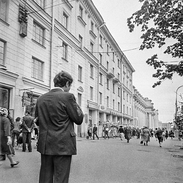 Пр-кт Ленина. Минск. Начало 80-х