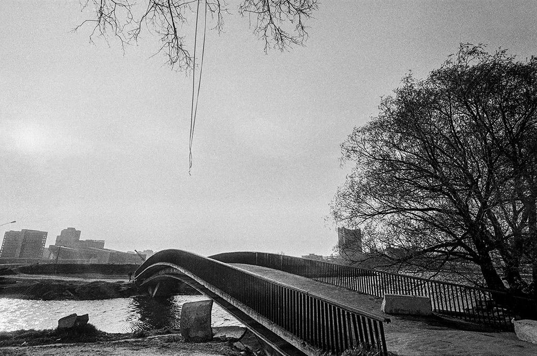 Строящийся остров слез.Минск, 1986 год