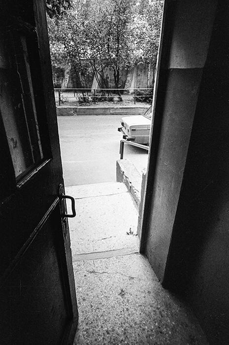 Подъезд. Минск, 1987 год