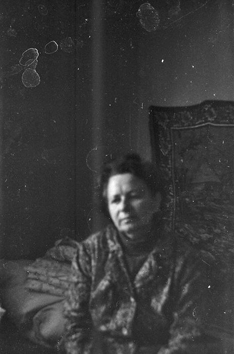 Портрет мамы. Брест, 1985 год