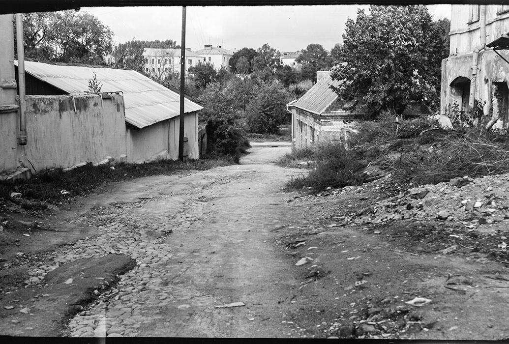 Реконстукция Верхнего города, Минск, конец 80-х