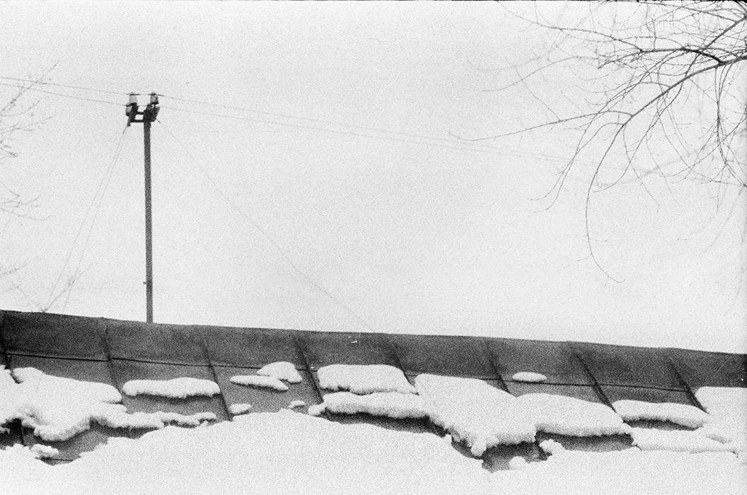 В р-не ул. Островского, Минск, начало 80-х