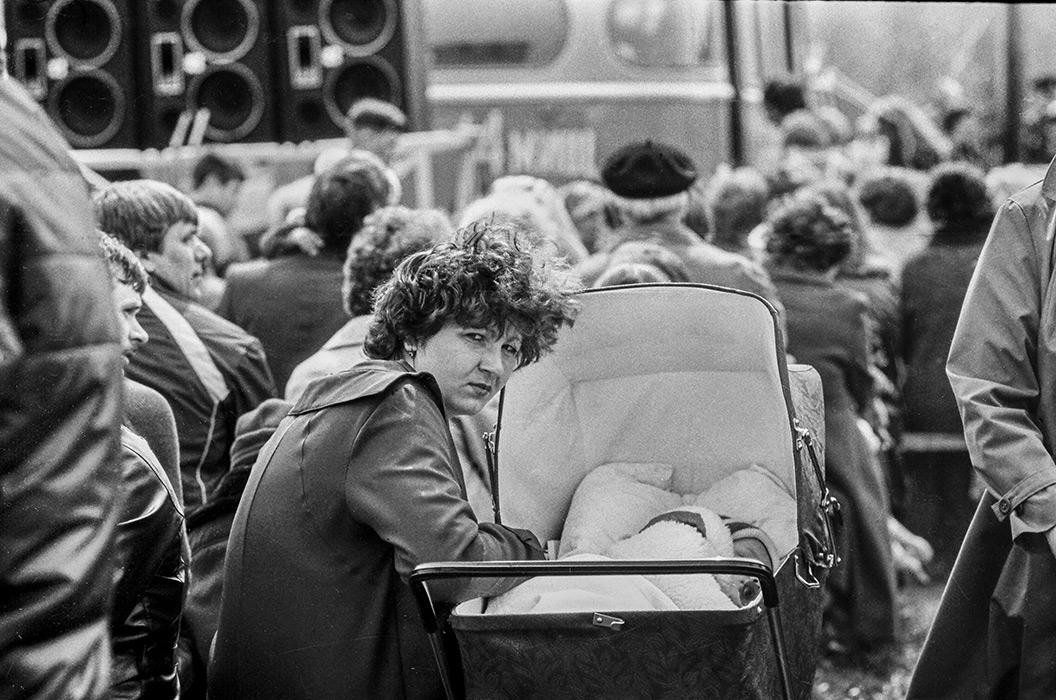День Победы в Серебрянке. Минск, 1984 год