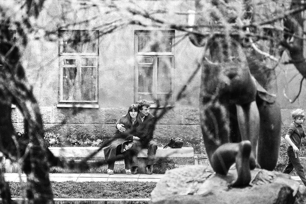 Пл. Ленина, Минск, 1984 год