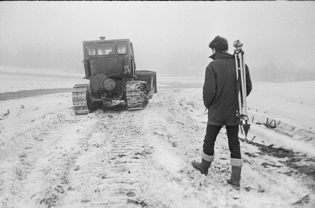 Строительство автодороги Москва-Минск-Брест, 1983 год