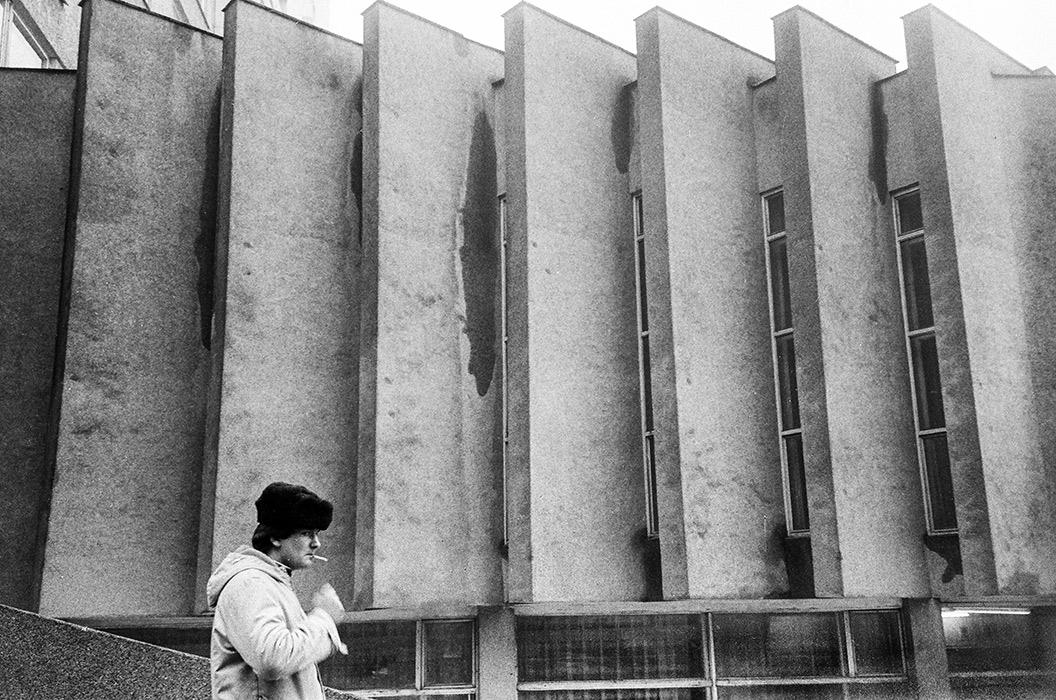 На ул.Берсона, Минск, 1984 год