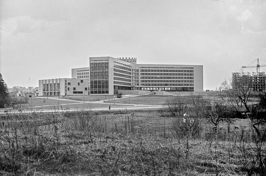 Институт физкультуры, Минск. 1984 год