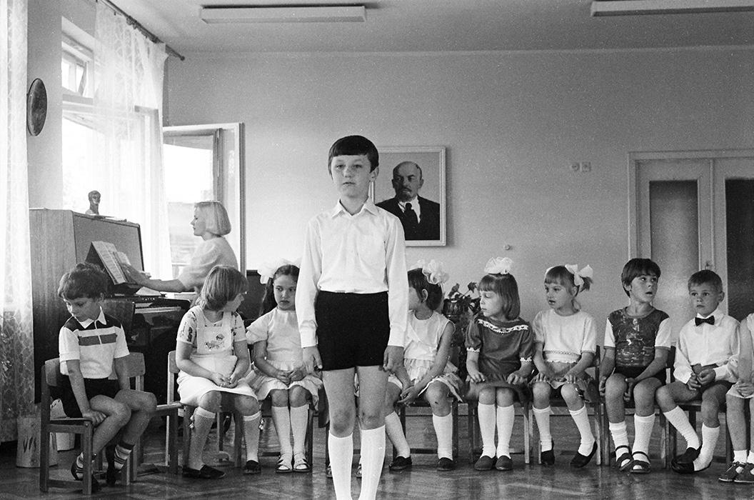 В детском садике. Минск, 1984 год