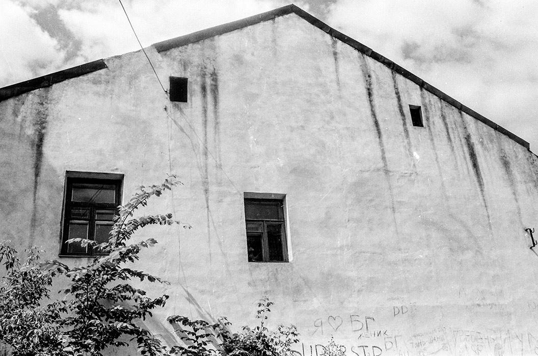 В р-не ул.Островского, Минск, середина 80-х