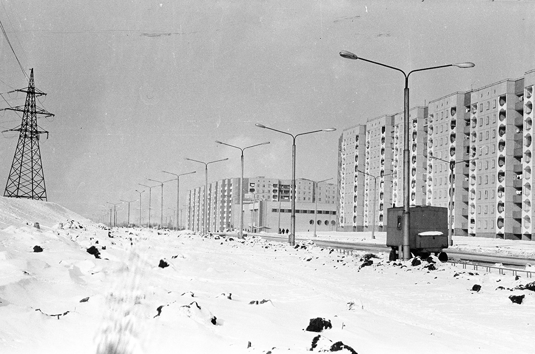 Ул.Якубова, Серебрянка, Минск, 1983 год